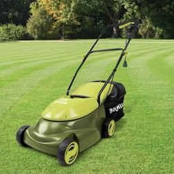14 Inch 12 Amp Home Electric Corded Push Behind Lawn Mower,