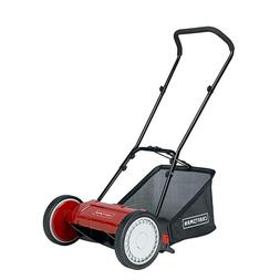 "Craftsman 16"" Reel Push Lawn Mower with Bag - Model LMRM1602"