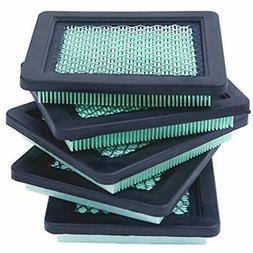 HOODELL 5 Pack 17211-zl8-023 Air Filter, Compatible for Hond