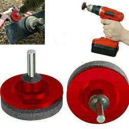 1Pcs Lawn Mower Blade Sharpener Sharpening Stone Grindstone