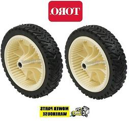 2 EACH TORO PUSH MOWER PUSHMOWER PLASTIC DRIVE WHEEL RECYCLE