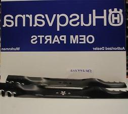 2 Genuine OEM 580244002 Husqvarna Lawn Mower 22 Blade 580244