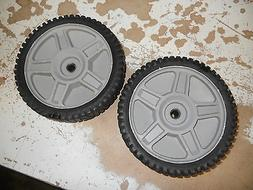 2 Genuine OEM Husqvarna Drive Wheels 581009202 / 532400543 1