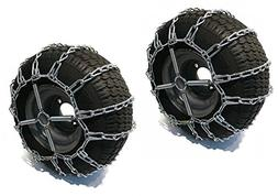 The ROP Shop 2 Link TIRE Chains & TENSIONERS 18x9.5x8 for Ku