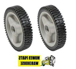 2 NEW REPL HUSQVARNA PUSH MOWER PUSHMOWER DRIVE WHEELS 53240