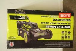 "Ryobi 20"" 40V 6.0 Ah Lithium-Ion Brushless Walk Behind Self"