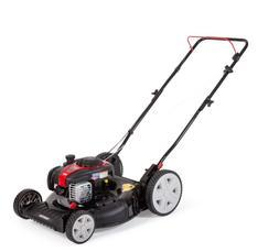 """Black Max 21"""" 125cc Gas 2-in-1 Push Mower w/ Briggs & Stratt"""