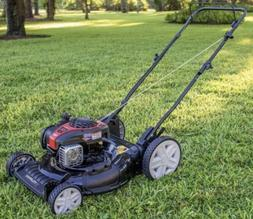 """Murray 21"""" 2 In 1 High Wheel Push Lawn Mower With Briggs and"""