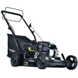21 in. 170 cc Gas 3-in-1 Walk Behind Self Propelled Lawn Mow