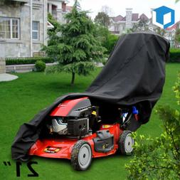 "21"" Waterproof Walk Behind Push Lawn Mower Cover Storage Rai"