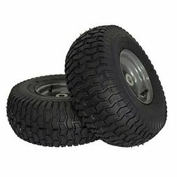 "MARASTAR 21446-2PK 15x6.00-6"" Front Tire Assembly Replacemen"