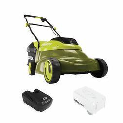 Sun Joe 24-Volt Cordless Brushless Lawn Mower | 14-Inch | 5.