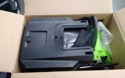 """Greenworks 24V 13"""" Lawn Mower, 4Ah USB Battery and Charger I"""