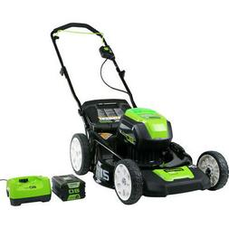 Greenworks 2501202 Pro 80V Cordless Lithium-Ion 21 in. 3-in-