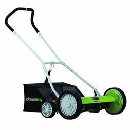 Greenworks 25062 18 in. Push Reel Mower