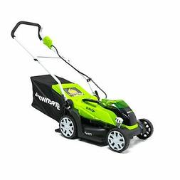 Greenworks 2506302 MO40B00 G-MAX 40V 14 in. Lawn Mower  New