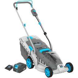 Swift 40V 18-Inch Brushless Cordless Lawn Mower with battery
