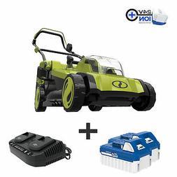 Sun Joe 48-Volt Cordless Lawn Mower | 17-inch | 6-Position |