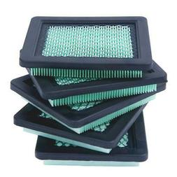 5 Pack Lawn Mower Air Filter for Honda 17211-zl8-023 gcv160