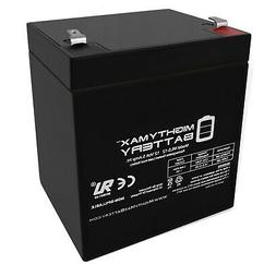 Mighty Max Battery 12V 5AH SLA Battery for Black Decker Gras