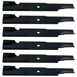 """6pk Lawn Mower Blades 71440002 for Wright 48"""" 32"""" Stander 91"""