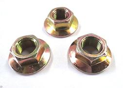 MTD 712-0417A Hex Flange Nut 5/8-18- 3 pack