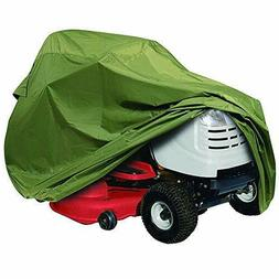 Classic Accessories 73910 Lawn Tractor Cover, Olive, Up to 5