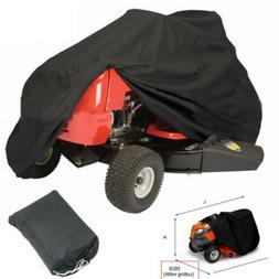 "78"" Waterproof Riding Lawn Mower Tractor Cover Yard Garden O"