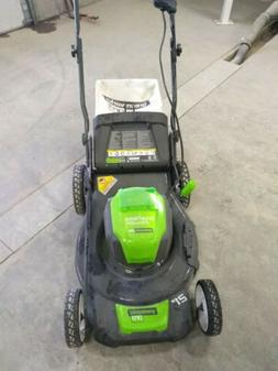 80V 21 in. Cordless Brushless Self-Propelled Lawn Mower with