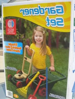 American Plastic Toys 6-Piece Gardener Set