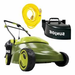 Sun Joe 12AMP 14-IN Electric Mower + BONUS Extension Cord +