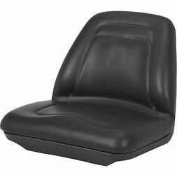 A & I Deluxe Midback Utility Lawn Mower Seat - Black, Model#