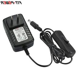 FIT-POWER 12VDC 1Amp AC Power Supply Adapter for 3528/5050 L