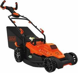 """BLACK+DECKER BEMW482ES Electric Mower 17"""" Lawn Pivot Control"""