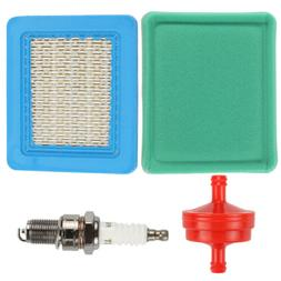 Air Filter Spark plug For BS 491588 491588S 399959 33644 CRA