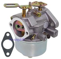 Carb Carburetor for Tecumseh Engine Snow Blower Craftsman To