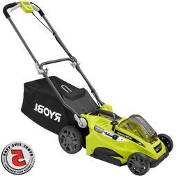 Ryobi 16 in. 40-Volt Cordless Walk-Behind Lawn Mower - Batte