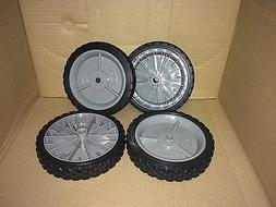 "CRAFTSMAN 7"" WALK BEHIND PUSH LAWN MOWER WHEELS SET OF 4 FIT"