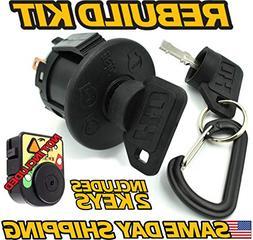 Ariens 21546319 Starter Ignition Switch - 2 Key & Free Keych