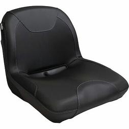 Milsco CS3500 Midback Universal Lawn Mower Seat — Black, M