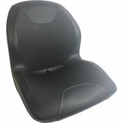Milsco CS3800 Highback Universal Lawn Mower Seat — Black,