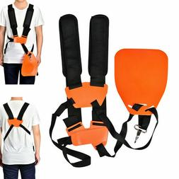 DOUBLE SHOULDER HARNESS LAWN MOWER STRAP FOR GRASS STRING TR