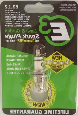 E3 Spark Plug E3.12 Lawn and Garden Spark Plug, Pack of 1