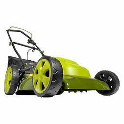 Sun Joe Electric Lawn Mower   20 inch   12 Amp Certified Ref