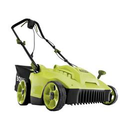 Sun Joe Electric Reel Lawn Mower w/Grass Catcher | 16 in | Q