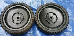 Front Drive Wheels 2pc Kit Self Propelled for Lawn Mower Cra