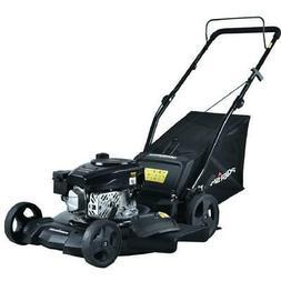 Gas Lawn Mower 21 in 3 in 1 Walk Behind Push Backyard Garden
