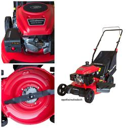 Gas Push Mulching Lawn Mower 3-in-1 160cc Walk Behind Grass