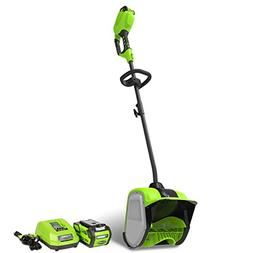 Greenworks 2600702 GMAX 40V Cordless Lithium-Ion 12 in. Snow
