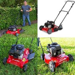 Hand Push Lawn Mower Cutter 20 In. Side Discharge w/ Briggs